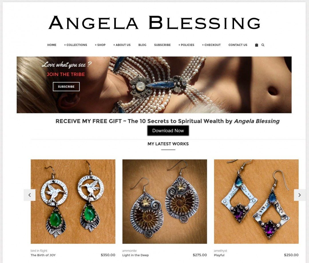Angela Blessing Jewelry